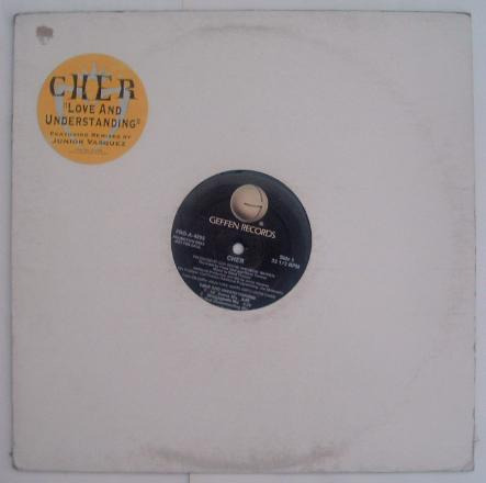 cher - love and understanding  - 12 inch maxi single vinilo