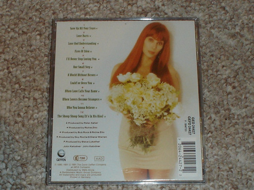 cher. love hurts. cd. nuevo. 1991.