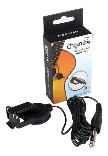 cherub micrófono para guitarra acústica wcp-60g