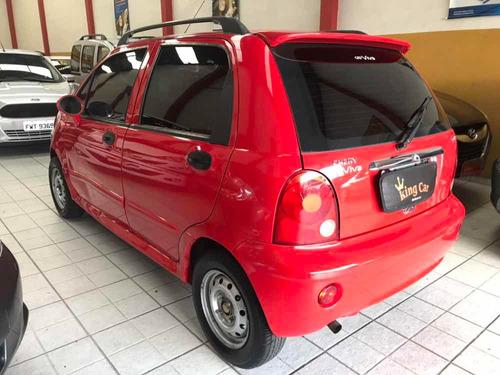 chery chery qq 1.1 5p 2012 completo  kingcar multimarcas