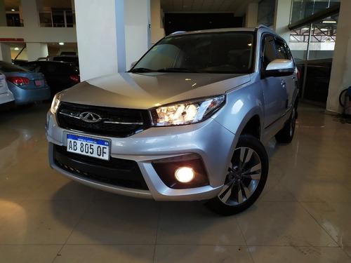 chery tiggo 1.6 nafta luxury aut cvt año 2017 color gris
