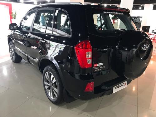 chery tiggo 3 1.6 3 luxury automatica negra