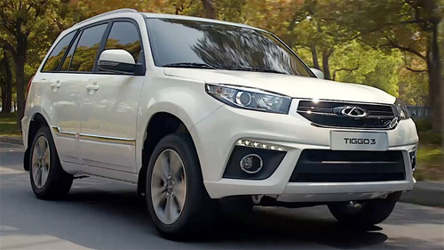chery tiggo 3 1.6  luxury cvt stock fisico disponible