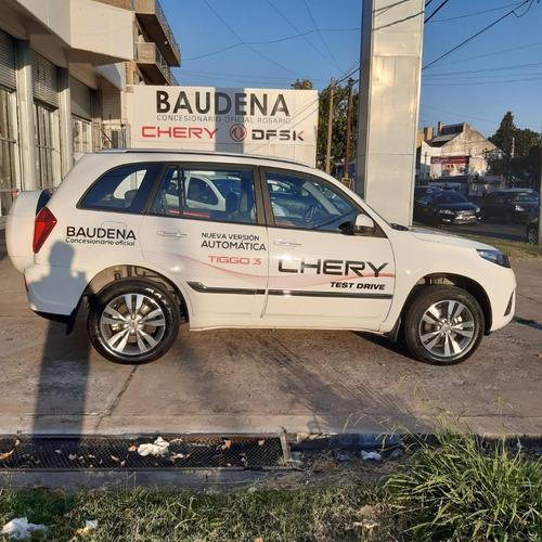 chery tiggo 3 luxury cvt 2017 usado baudena