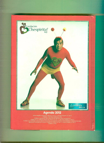 chespirito (agenda 2012)especial para coleccionistas