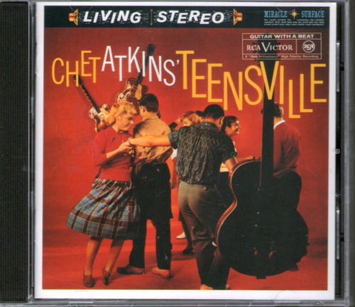 chet atkins - teensville - cd -