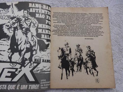 chet nº 1: os renegados - wilde - watson - ed. vecchi - 1980