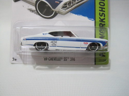 chevelle 69 ss 396  hotwheels 2015 mattel diecast