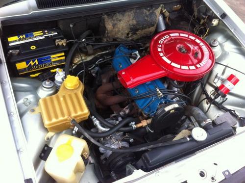 chevette sl/e automático e ar condicionado placa
