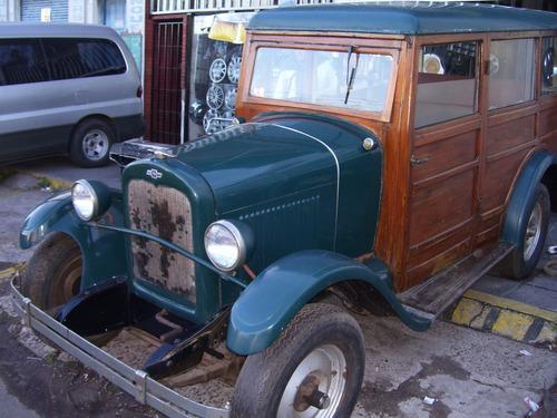 chevrolet 1926 carrocería de madera, muy buen estado