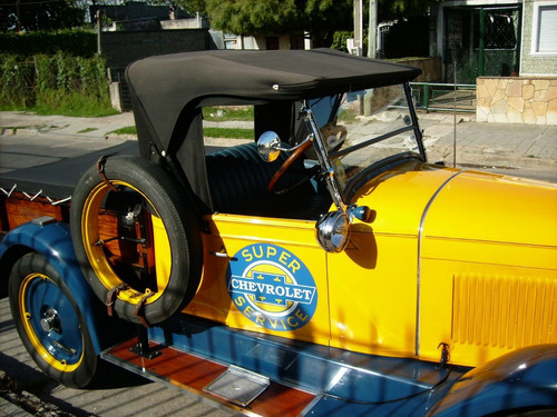 chevrolet 1928 pick up 1/2 ton de carga