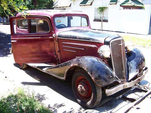 chevrolet 1934 master , tudor (no impala mustang camaro gtx)