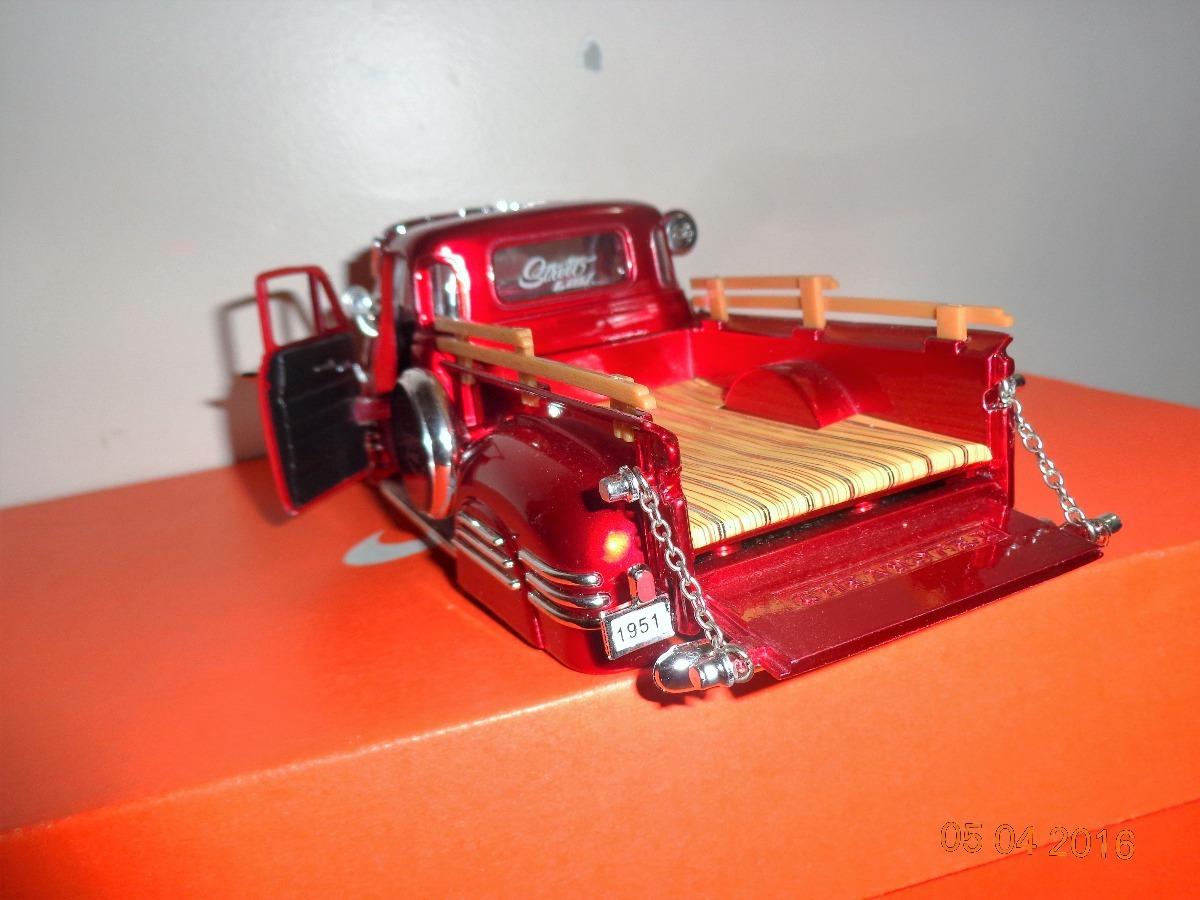 Chevrolet 1951 Pick Up Custom Bigtime Jada 1 24 165000 En 1953 Pickup Cargando Zoom