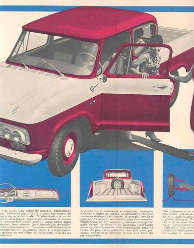 chevrolet 1965 - c 1414 - folder de venda - muito raro