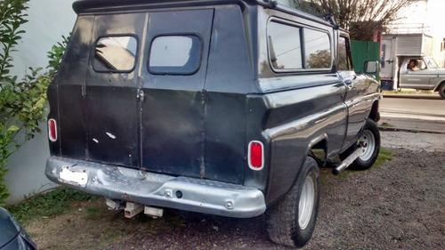 chevrolet 1966 - 4x4 gnc y excelente estado