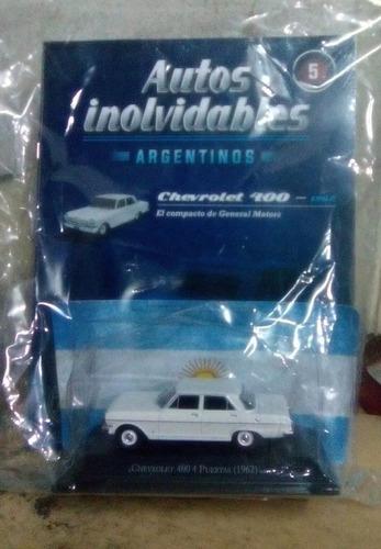 chevrolet 400 1962 coleccion salvat autos inolvidables 1/43
