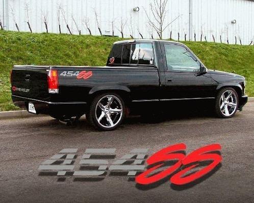 Chevrolet 454 Ss Pick Kit Calcomanias 3 Pzas, Envió Gratis!