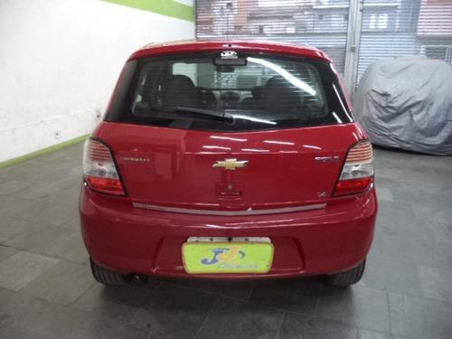 chevrolet agile 1.4 lt 5p completo airbags abs 2013 vermelho