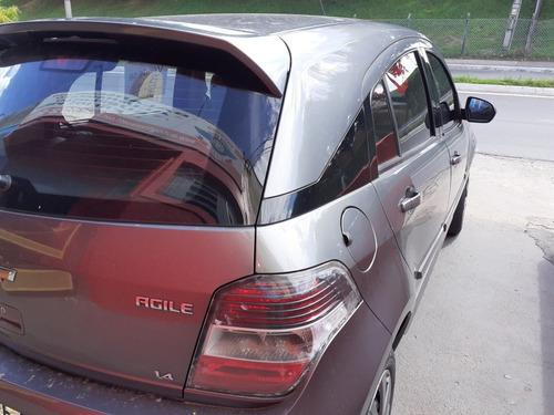 chevrolet agile 1.4 ltz 5p 2011 - cautelar aprovado.
