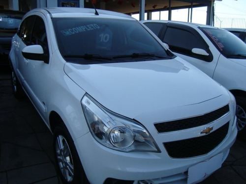 chevrolet agile 1.4 mpfi ltz 8v flex 4p manual