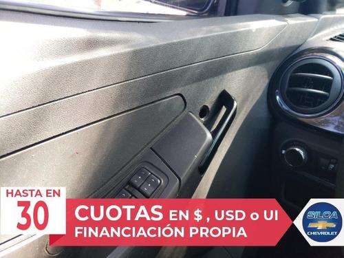 chevrolet agile ls 1.4 2011 negro 5 puertas
