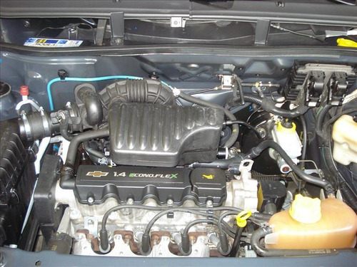 chevrolet agile lt motor 1.4 2011 preto