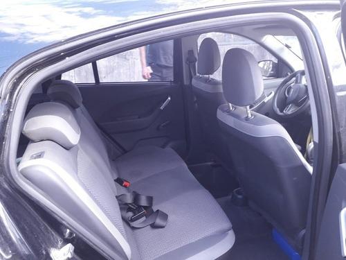 chevrolet agile motor 1.4 ls 5 puertas color negro 2015