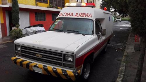 chevrolet ambulancia c20 8cil