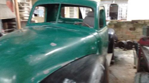 chevrolet antiga 1950 carroceria