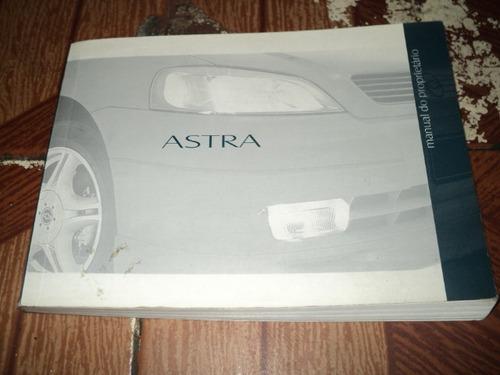 chevrolet astra agosto 2000  manual do proprietario