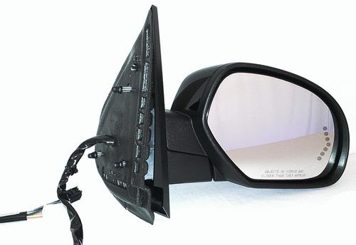 chevrolet avalanche 2007 - 2013 espejo der plegado electro
