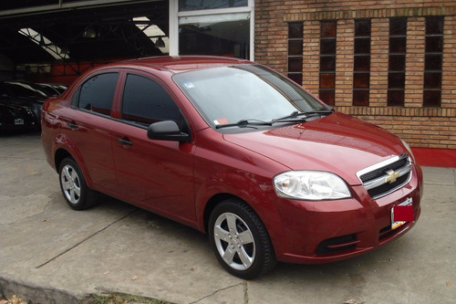 chevrolet  aveo 1.6 ls 2011 bordo