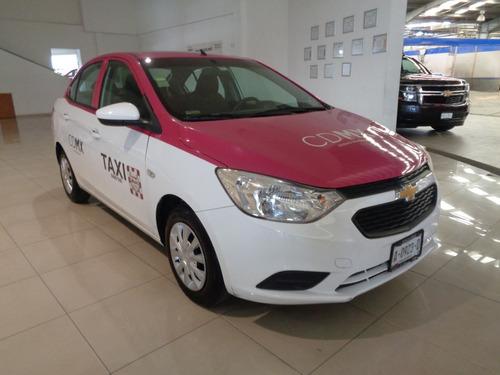 chevrolet aveo 1.6 ls 2018 incluye placas taxi