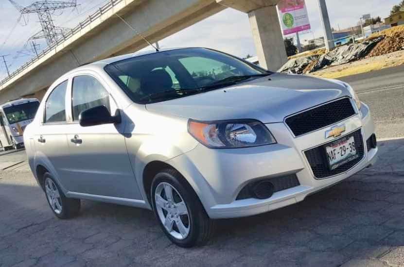 Chevrolet Aveo 16 Lt At 2017 135000 En Mercado Libre