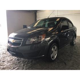 Chevrolet Aveo 1.6 Lt Bolsas De Aire Y Abs 2018, Estándar.