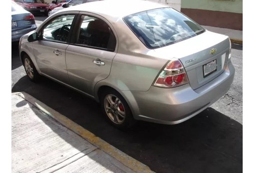 chevrolet aveo 2009 estandar 4 puertas mp3 ring 15 aluminio