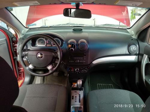chevrolet aveo 2011 automático único dueño