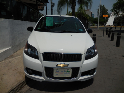 chevrolet aveo 2014 blanco 1.6 ls l4 man mt