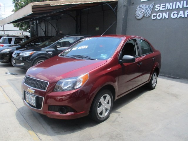 Chevrolet Aveo 2017 Ls K Mt 135000 En Mercado Libre