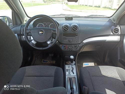 chevrolet aveo 4 puertas automatico lt 2012