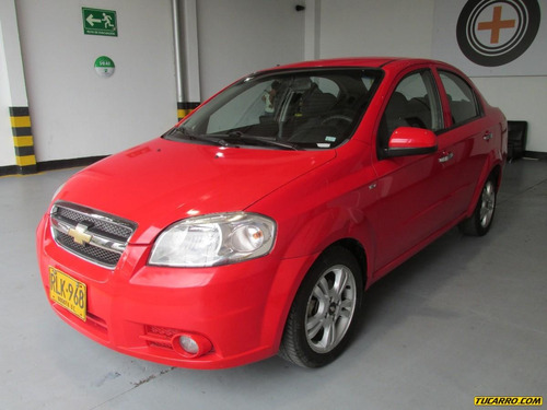chevrolet aveo emotion 1.6 mt