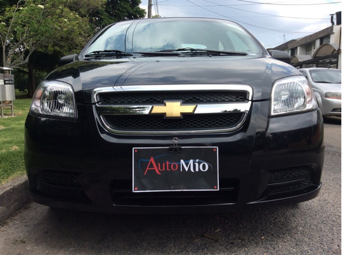 chevrolet aveo emotion 1600cc mt 2010