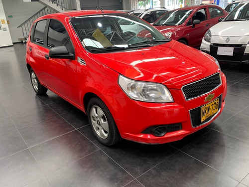 chevrolet aveo emotion   2012