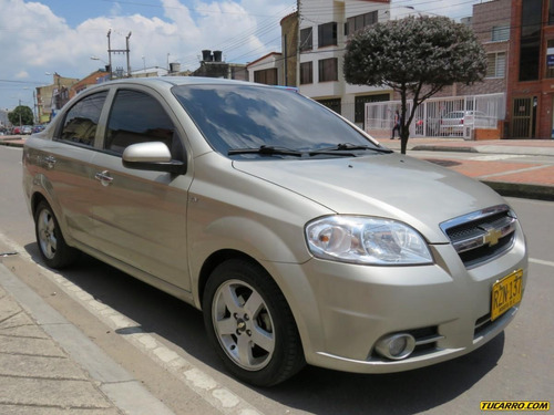 chevrolet aveo emotion mt 1600cc abs aa 2ab fe