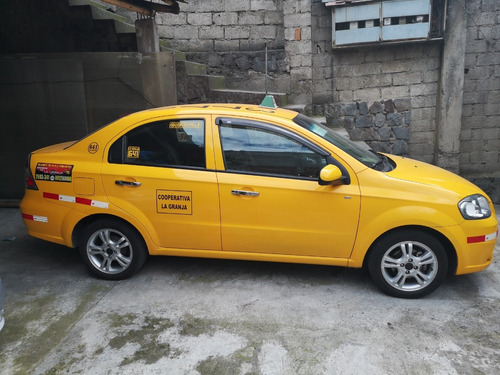 chevrolet aveo emotion - taxi
