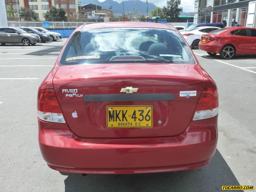 chevrolet aveo family mt 1500cc 4p aa