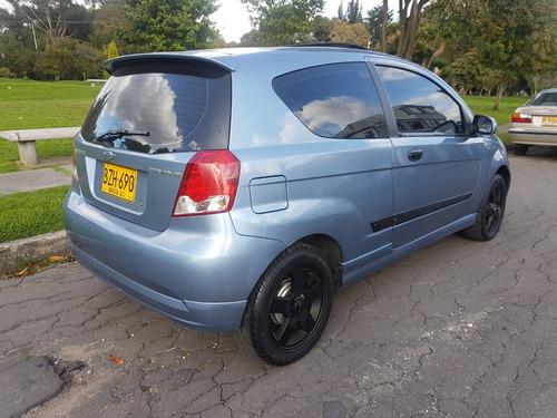 chevrolet aveo l mt  2007 aa abs airbag 1.4cc