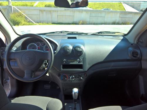 chevrolet aveo ls aut 2016 pocos kms, impecable, crédito!!