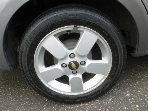 chevrolet aveo ltz automático, mod. 2012, color gris