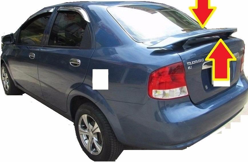 Chevrolet Aveo Optra Spoiler Aleron Accesorio Repuesto 129000